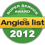 Brothers Windows Angie's List Superior Service Award